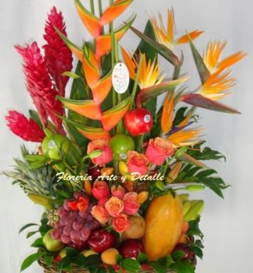 Arreglos de Flores y Frutas en México DF