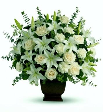 Flores de Condolencias a Domicilio en México DF