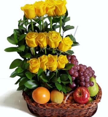 Arreglo de Flores con Rosas a Domicilio en CDMX