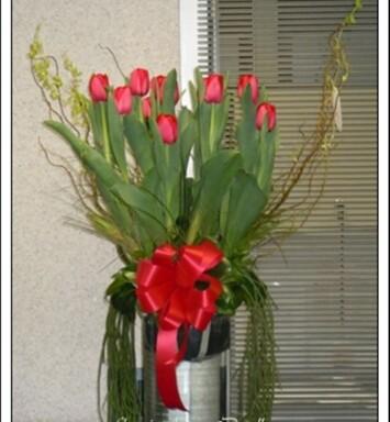 Envió a domicilio de tulipanes