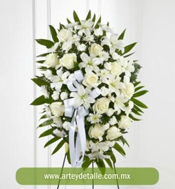 envía flores de condolencias
